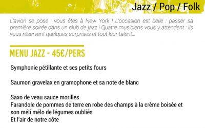 Soirée Roanne Table Ouverte – Jean Stalter Quartet – 17 octobre 2020